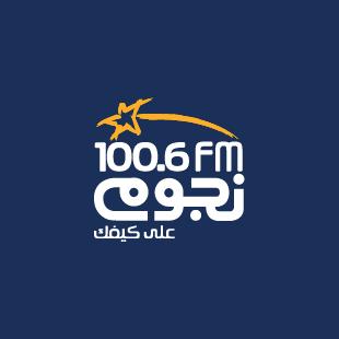 Nogoum 100.6 FM Radio Logo