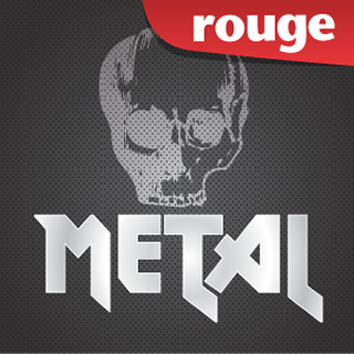 Rouge - Metal Logo