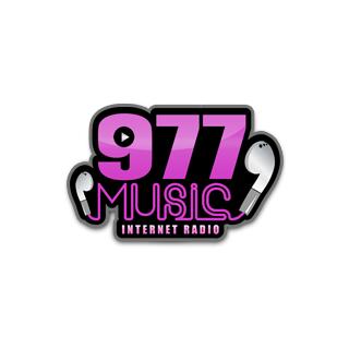 .977 Music - 80s Logo