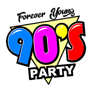 FJLive - 90's Party Logo