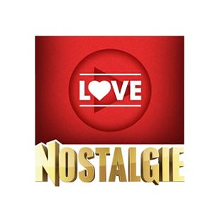 Radio Nostalgie - Love Logo