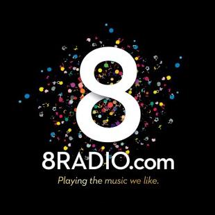 8Radio.com Logo