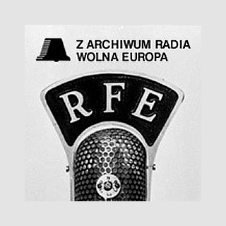 Polskie Radio - Z archiwum Radia Wolna Europa Logo