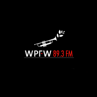 WPFW 89.3 FM Radio Logo