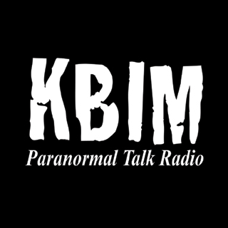 K-BIM Paranormal Talk Radio Logo