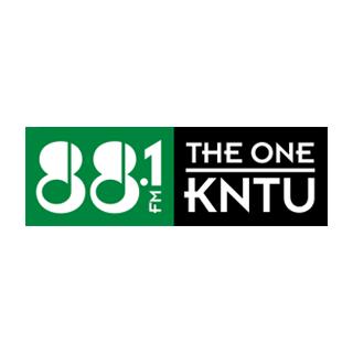 KNTU 88.1 FM - The One Radio Logo