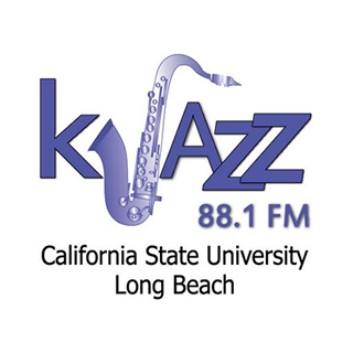 KJazz 88.1 FM - California State University Radio Logo