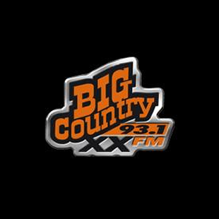 Big Country 93.1 FM Logo