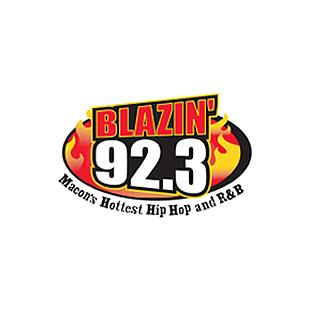 Blazin 92.3 Logo