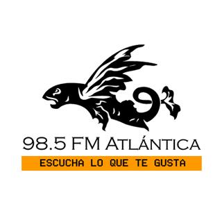 98.5 FM Atlantica Logo