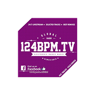 124BPM.TV - Electronic Dance Music Logo