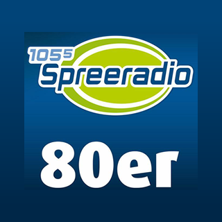 105'5 Spreeradio 80er Logo