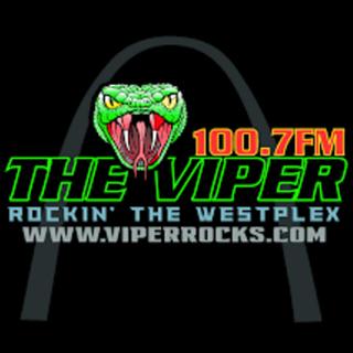 100.7 The Viper Logo