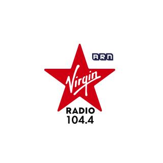 104.4 Virgin Radio Dubai Logo
