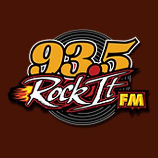 93.5 Rock It FM Logo