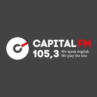 Capital FM 105.3 - Moscow Logo