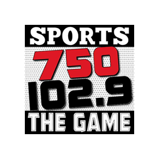 The Game 750 AM Logo