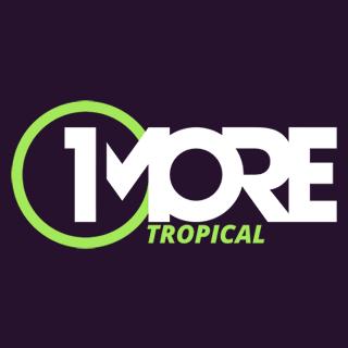 1MORE - Tropical Logo