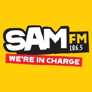 Sam FM - Bristol Logo