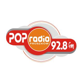 POP Radio Pruszków 92.8 FM Logo