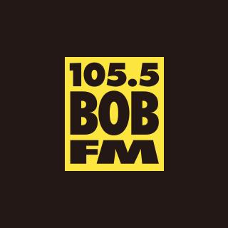 105.5 Bob FM Logo