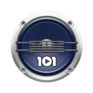 101.ru - 80's Dance Logo