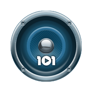 101.ru - Deep House Logo