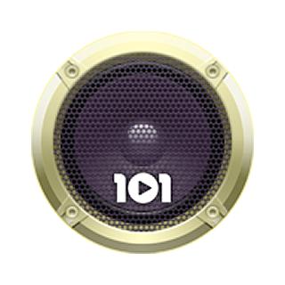101.ru - 90's Pop Logo