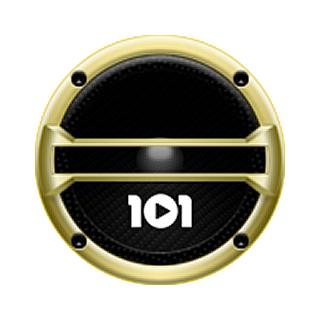 101.ru - Gangsta & Hip-Hop Logo