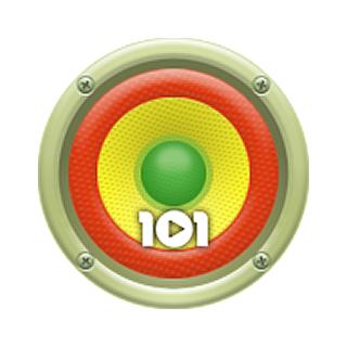 101.ru - Reggae Logo