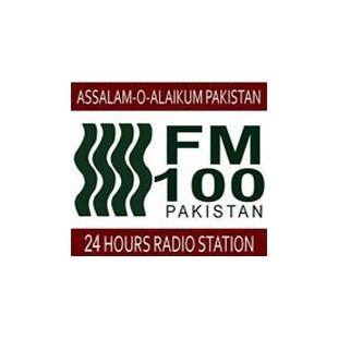 FM 100 Pakistan - Islamabad Logo