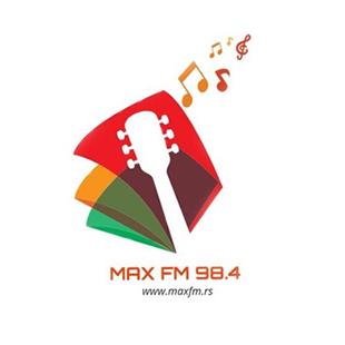 Max FM Jagodina Logo