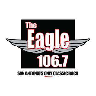 The Eagle 106.7 Logo