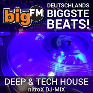 bigFM - Deep & Tech House nitroX DJ-MIX Logo