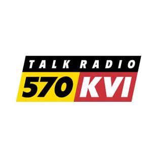 570 KVI Talk Radio Logo
