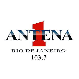Radio Antena 1 Rio de Janeiro Logo