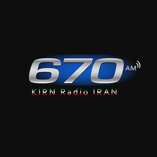 Radio Iran - KIRN 670 AM Logo