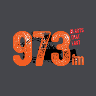 973FM Blasts That Last Logo