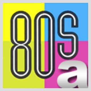 A Better Radio - Awesome 80s Logo