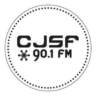 CJSF 90.1 FM Logo
