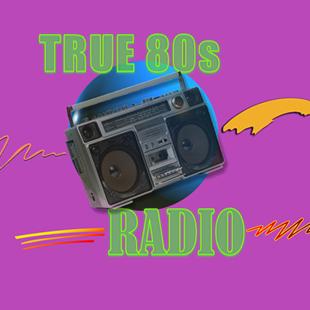 True 80s Music Radio Logo