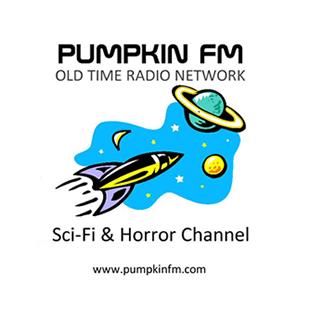 Pumpkin FM Sci-Fi & Horror Logo