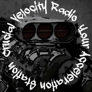Crucial Velocity Radio Logo