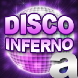 A Better Radio - 70s Disco Inferno Logo