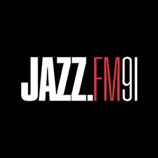 JAZZ FM 91 - Oscar Peterson Radio Logo