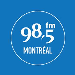 98.5 fm Montreal Logo