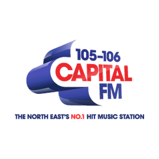 Capital FM - Tyne & Wear Radio Logo