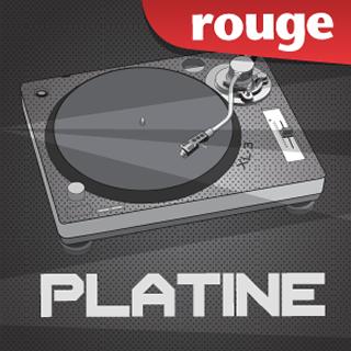 Rouge - Platine Radio Logo