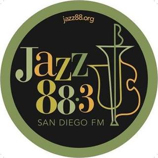 San Diego's Jazz 88.3 FM - KSDS Radio Logo