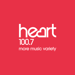 Heart 100.7 FM West Midlands Radio Logo